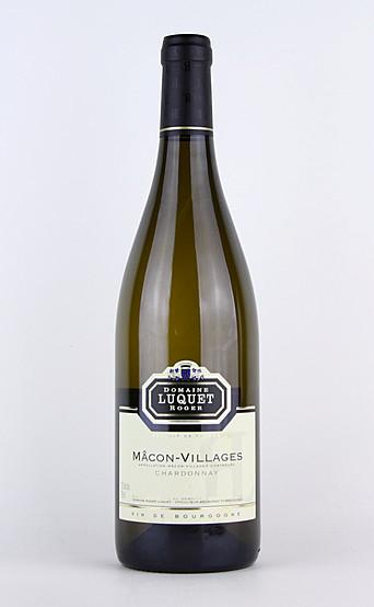 LUQUET Roger Chardonnay Macon Villages AC 2014 75cl MO
